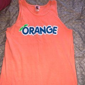 Stingrays orange tank